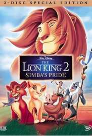 The Lion King 2 - Simbas Pride (1998) (BluRay)