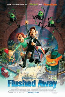 Flushed Away (2006) (DVD) - Cartoon Dubbed Movies
